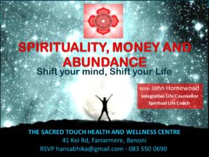SPIRITUALITY, MONEY & ABUNDANCE