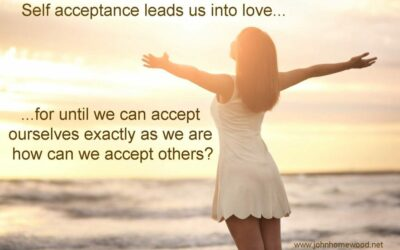 SELF-ACCEPTANCE LEADS TO HAPPINESS